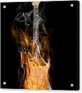 Light My Fire Acrylic Print by Peter Chilelli