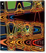 Light Painting 3 Acrylic Print by Delphimages Photo Creations