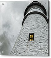 Lighthouse Acrylic Print by Diane Diederich