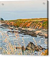 Lighthouse In Summer Acrylic Print by Artist and Photographer Laura Wrede