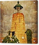 Lighthouse - La Coruna Acrylic Print by Mary Machare