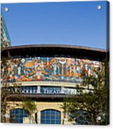 Lila Cockrell Theatre - San Antonio Acrylic Print by Christine Till