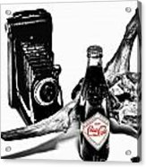 Limited Edition Coke - No.008 Acrylic Print by Joe Finney