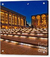 Lincoln Center Acrylic Print by Susan Candelario