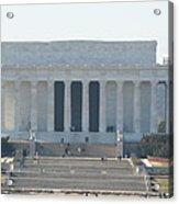 Lincoln Memorial - Washington Dc - 01131 Acrylic Print by DC Photographer