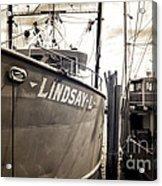 Lindsay L Acrylic Print by John Rizzuto