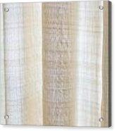 Linen Curtain Acrylic Print by Tom Gowanlock