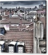 Lisbon Rooftops I Acrylic Print by Marco Oliveira