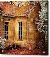 Little Old School House II Acrylic Print by Julie Dant