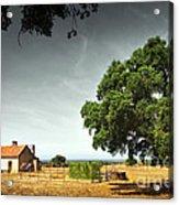 Little Rural House Acrylic Print by Carlos Caetano