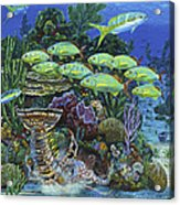 Lobster Feast Re0019 Acrylic Print by Carey Chen