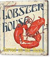 Lobster House Acrylic Print by Debbie DeWitt