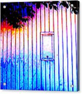 Location 54 North  A Shed Full Of Surprises Acrylic Print by Sir Josef - Social Critic - ART