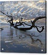 Loch Ness Acrylic Print by Debra and Dave Vanderlaan