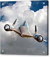 Lockheed Blackbird A12 Trainer Acrylic Print by David Murphy