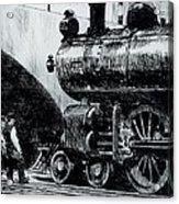Locomotive Acrylic Print by Edward Hopper