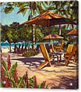 Lola's In Costa Rica Acrylic Print by Christie Michael