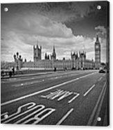 London - Houses Of Parliament  Acrylic Print by Melanie Viola