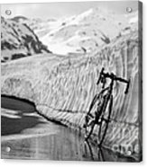 Lonely Bike Acrylic Print by Maurizio Bacciarini