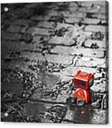Lonely Little Robot Acrylic Print by Scott Norris