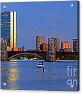 Longfellow Bridge Acrylic Print by Joann Vitali