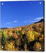 Loon Mountain Foliage Acrylic Print by Luke Moore