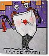 Loose Tooth Acrylic Print by Anthony Falbo