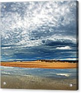 Lossiemouth Pano Acrylic Print by Jane Rix