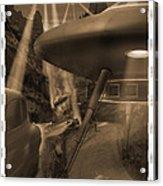Lost Film 35 Mm Acrylic Print by Mike McGlothlen