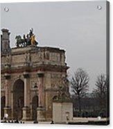 Louvre - Paris France - 011326 Acrylic Print by DC Photographer
