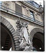 Louvre - Paris France - 011331 Acrylic Print by DC Photographer