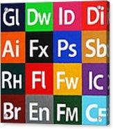 Love Adobe Acrylic Print by Oliver Johnston