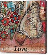 Love Always Acrylic Print by Shawn Petite