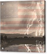 Love For Country Acrylic Print by James BO  Insogna