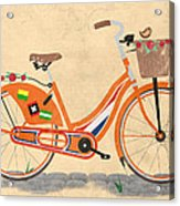 Love Holland Love Bike Acrylic Print by Andy Scullion