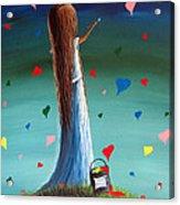 Love Is Beautiful By Shawna Erback Acrylic Print by Shawna Erback