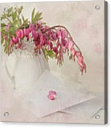 Love Letters Acrylic Print by Robin-lee Vieira