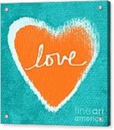 Love Acrylic Print by Linda Woods