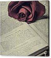 Love Stories Acrylic Print by Joana Kruse