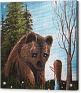 Loving All God's Creatures By Shawna Erback Acrylic Print by Shawna Erback