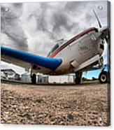 Low Level Acrylic Print by Paul Job