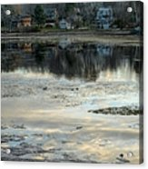 Low Water At Lake Garfield Acrylic Print by Geoffrey Coelho