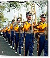Lsu Marching Band 3 Acrylic Print by Steve Harrington