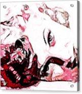 Lucille Ball Acrylic Print by D Walton