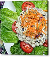 Macaroni Salad 1 Acrylic Print by Andee Design