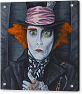 Mad Hatter Acrylic Print by Travis Radcliffe