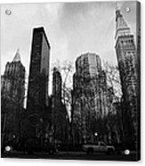 Madison Square Park Flatiron District New York City Acrylic Print by Joe Fox