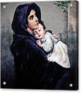 Madonnina Acrylic Print by A Samuel