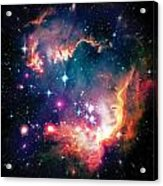 Magellanic Cloud 1 Acrylic Print by The  Vault - Jennifer Rondinelli Reilly