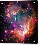 Magellanic Cloud 2 Acrylic Print by The  Vault - Jennifer Rondinelli Reilly